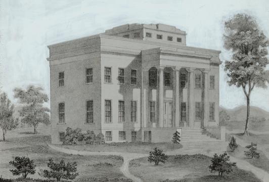 Cincinnati Observatory, circa 1845